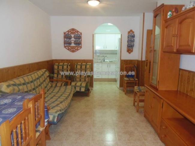 Piso en venta con 70 m2, 2 dormitorios  en Puerto de Mazarrón, CENTRO